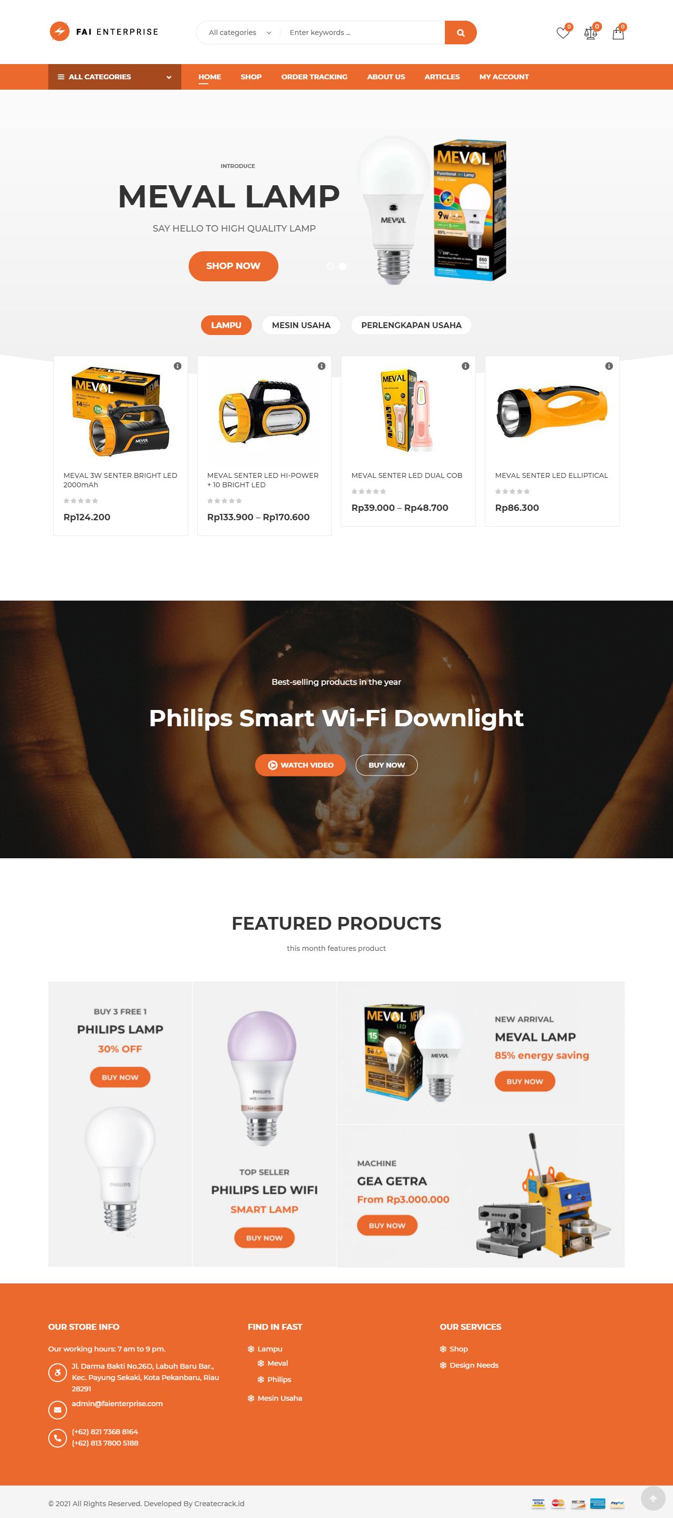 home page fai enterprise